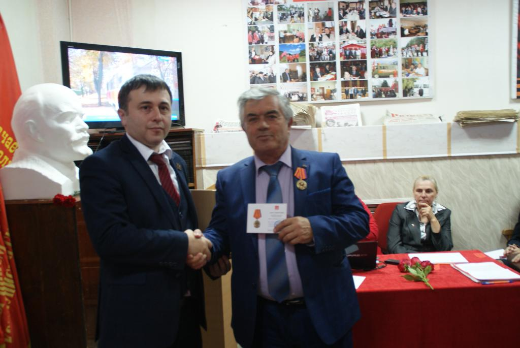 Член кпрф в кчр джандубаев заудин з