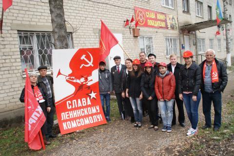В станице Сторожевой состоялся массовый прием желающих в ряды комсомола и пионерии