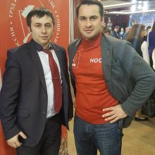 С Дмитрием Носовым - бронзовым призеров Олимпийских игр-2004
